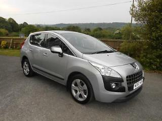 Peugeot 3008 Crossover 1.6 VTi 120bhp Sport WITH A MANUAL GEAR BOX