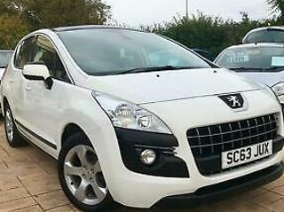 Peugeot 3008 Crossover 1.6HDi 115bhp FAP 2013MY Active