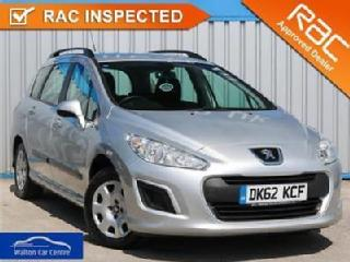 Peugeot 308 1.6 Hdi Sw Access 2012 62 • from £21.37 pw