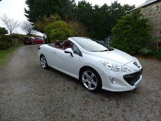 Peugeot 308 CC 2.0HDi 140bhp FAP Coupe 2011MY GT