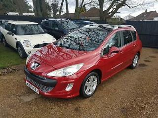 Peugeot 308 SW 1.6HDi 110bhp FAP SE fsh top of the range