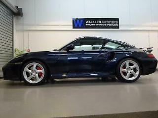 Porsche 911 996 3.6 Turbo Manual Coupe, Midnight Blue, Grey Leather, 64k miles