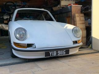 Porsche 912 1966 RHD AFN UK Car Light Ivory bare shell with v5 shell