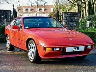 PORSCHE 924S 2.5 GUARDS RED MANUAL 1986 2DR COUPE