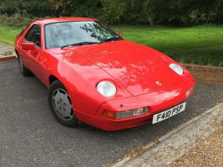PORSCHE 928 S4 AUTOMATIC 1988 103000 MILES FULL SERVICE HISTORY PX WELCOME