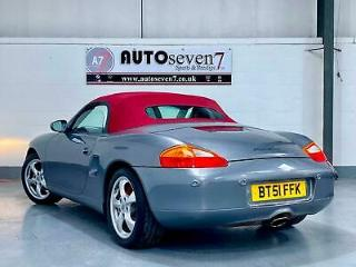 Porsche Boxster 2.7 auto 2002MY Tiptronic S *RARE RED HOOD AND LEATHER