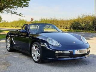 PORSCHE BOXSTER 3.4 987 S TIPTRONIC S 2DR 2009 Petrol Automatic in Blue