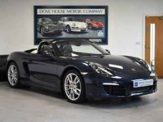 Porsche Boxster 981 S 3.4 PDK with HUGE SPECIFICATION