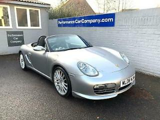 PORSCHE BOXSTER RS 60 Spyder 3.4S 47000miles FPSH Black Heated Sports Leather