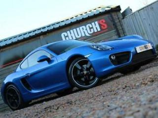 PORSCHE CAYMAN 2.7 981 S/S ONE OWNER/LEATHER/PDSL
