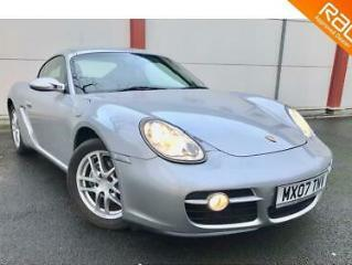 PORSCHE CAYMAN 987 2Dr 2007 Manual 69000 Petrol Silver Petrol Manual in Silver