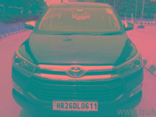 Purple 2018 Toyota Innova Crysta 2.7 ZX AT 7 STR 23000 kms driven in Tagore Garden