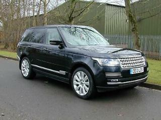 RANGE ROVER 3.0TD VOGUE AUTOBIOGRAPHY LAND ROVER ABOVE AN BEYOND WARRANTY!