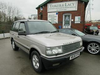 Range Rover 4.6 Auto HSE P38 Blenheim Silver With Ebony Leather