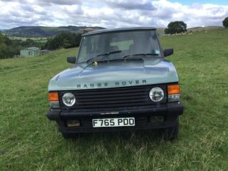 Range Rover Classic 5 Door 5 speed Manual Turbo Diesel SPARES OR REPAIR