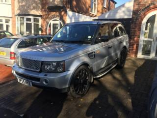 "Range Rover sport HSE 2.7 2005 55 reg low tax band Nice spec 22"" overfinch"