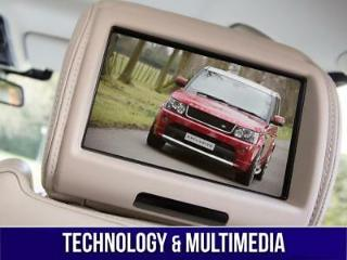RANGE ROVER SPORT REAR ENTERTAINMENT AND TECHNOLOGY