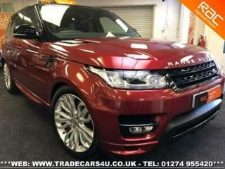 RANGE ROVER SPORT SDV8 DIESEL AUTOBIOGRAPHY DYNAMIC *HUGE SPEC*BLACK PACK