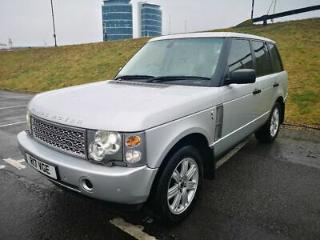 Range rover vogue TD6 with Private Plate and BMW engine