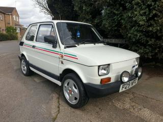RARE 1988 CLASSIC FIAT 126 BIS 705 ABARTH ONLY 13K MILES * SERVICE HISTORY
