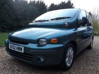 Rare up front wheelchair accessible Fiat Multipla 100 16V ELX
