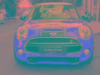 Red 2015 Mini Cooper S 1.6 20000 kms driven in Richmond Road