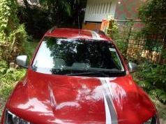 Red 2017 Renault Kwid RXT Opt 14000 kms driven in