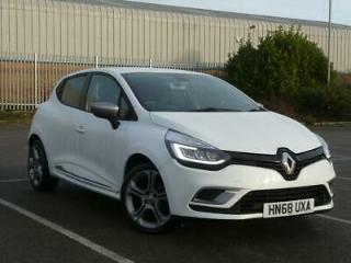 RENAULT 1.5 DCI 90PS GT LINE 5DR WHITE