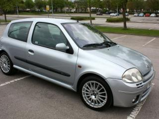 RENAULT CLIO 172 PHASE 1 RENAULTSPORT ICEBERG SILVER HPI CLEAR PH1
