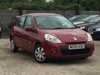Renault Clio 1.2 16v 2009MY Expression Petrol Manual LADY OWNER