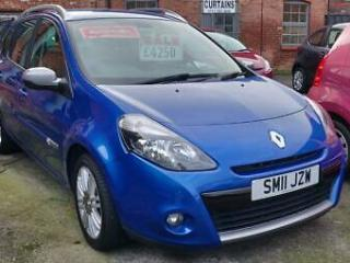 Renault Clio 1.6 Sport Tourer AUTOMATIC 2011MY GT Line TomTom