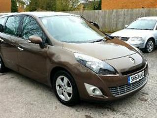 Renault Grand Scenic 1.5dci Dynamique TomTom 7 SEATERS FULL SERVICE HISTORY