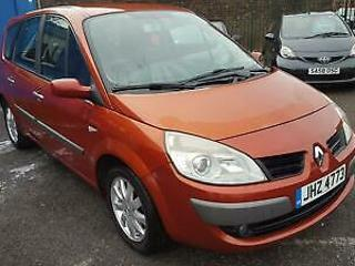 Renault Grand Scenic 1.6 VVT 111bhp Dynamique 5dr 2007 Red 84k 5 seats