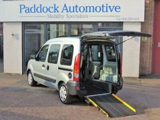 Renault Kangoo 1.5DCi Authentique Disabled Wheelchair Adapted Vehicle WAV