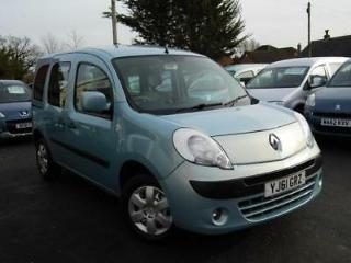 Renault Kangoo auto automatic wav wheelchair access accessible disabled