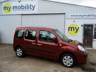 Renault Kangoo Expression Automatic Wheelchair Scooter Accessible Car WAV