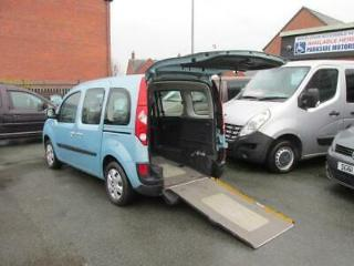Renault Kangoo wheelchair car, disability vehicle, disabled