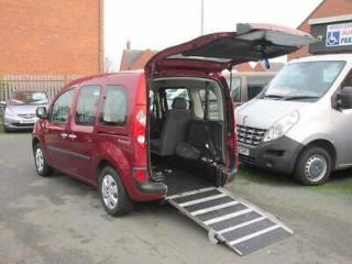 Renault Kangoo wheelchair car, disabled access, mobility vehicle