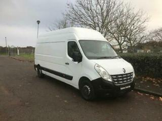 RENAULT MASTER 2.3 dCi ECO 35 L2H3 High Roof Van FWD 4dr white 2013