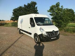 RENAULT MASTER 2.3 dCi LM35 Business Medium Roof Van FWD 5dr white 2016