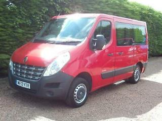 Renault Master 2.3DCI 125 AUTOMATIC *NO VAT* WHEELCHAIR ACCESS VEHICLE DISABLED