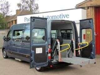 Renault Master LM35 DCI Disabled Wheelchair Adapted Vehicle WAV