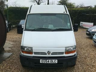 Renault Master minibus wheelchair access disabled tail. WEBASTO!