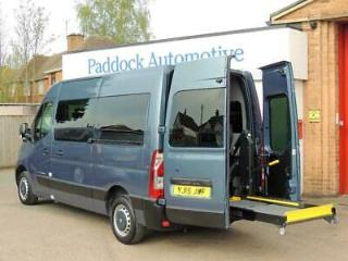 Renault Master MM33 DCi Auto Driver Transfer Disabled Wheelchair Adapted Vehicle