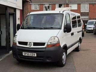 Renault Master SL28 DCi 80 SWB Disabled Wheelchair Accessible Vehicle