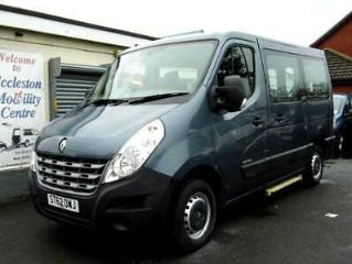 Renault Master wav wheelchair accessible vehicle disabled access car