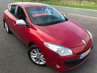 RENAULT MEGANE 1.5dCi I MUSIC DIESEL £30 TAX £20 WEEK NO DEPOSIT 5DR 2010