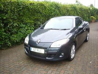 Renault Megane 1.9dCi 130 Convertable 2011MY Dynamique Tom Tom