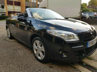 Renault Megane 1.9dCi 130 Coupe 2010 Low Mileage Tom Tom convertible hard top