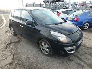Renault Scenic Damaged Repairable Salvage